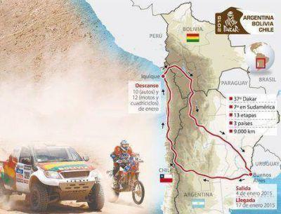 El rally Dakar 2015 comienza la competencia este domingo en Baradero