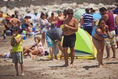 Mar del Plata fue elegida por los visitantes para comenzar el año