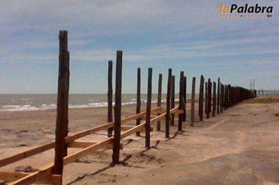 Construyen una pasarela de acceso al Muelle Los Pocitos
