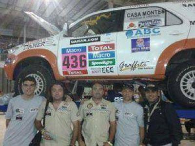 Dakar 2015: Los Hermanos García listos para la largada