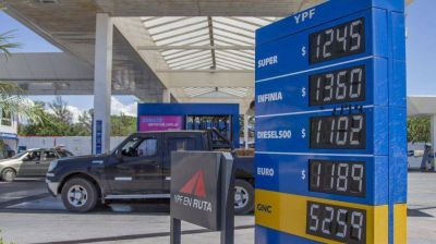 En Salta solo YPF bajó los precios de los combustibles