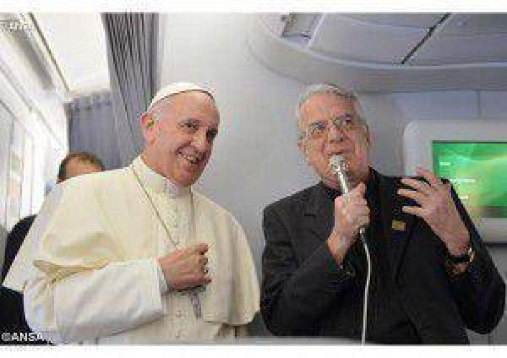 Balance del año 2014 para el Papa Francisco, según el padre Lombardi