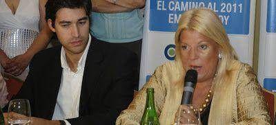 Carrió irá a Vicente López para hacérsela difícil a Adrián Pérez