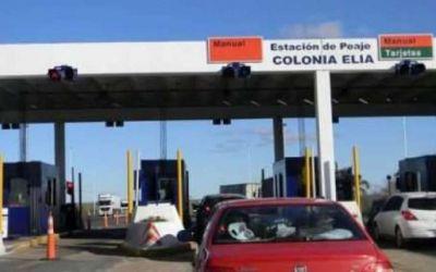 Aument� la tarifa del peaje de Colonia El�a