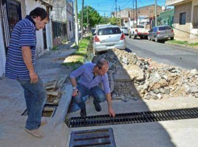 Trabajos de mejora en la red hidráulica del barrio Crisol de San Fernando