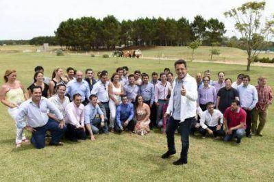 Sergio Massa participó en el encuentro generacional Sub 45 del Frente Renovador