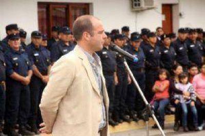 Salta: Alejandro Cornejo presidió el acto de ascenso de policías