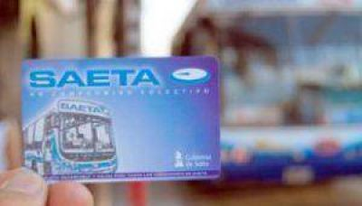 Salta: $3,25 es la tarifa que solicita SAETA para el �rea metropolitana