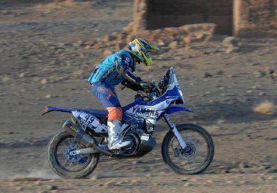 Mauricio Gómez tuvo un interesante inicio en el Rally Dakar