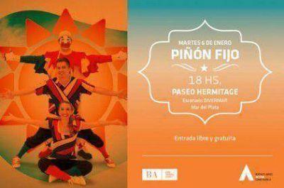 DiverMar inaugura escenario principal con Piñón Fijo