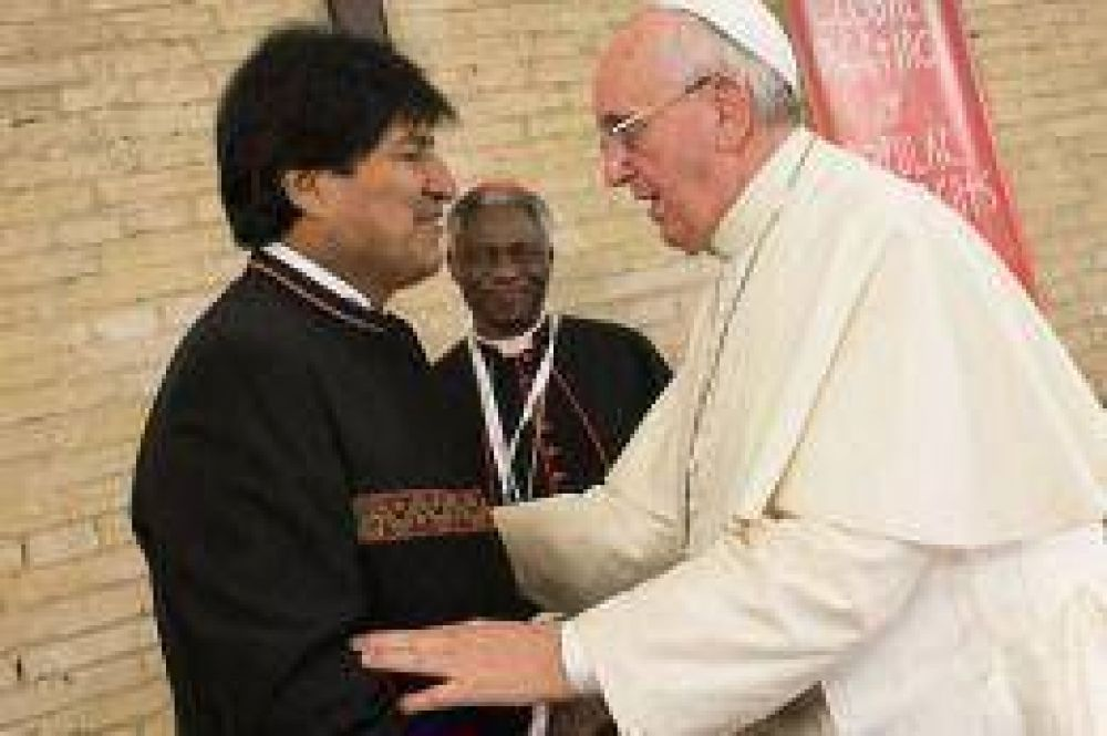 El papa Francisco le pidió a Evo Morales información sobre la demanda de salida al mar para Bolivia