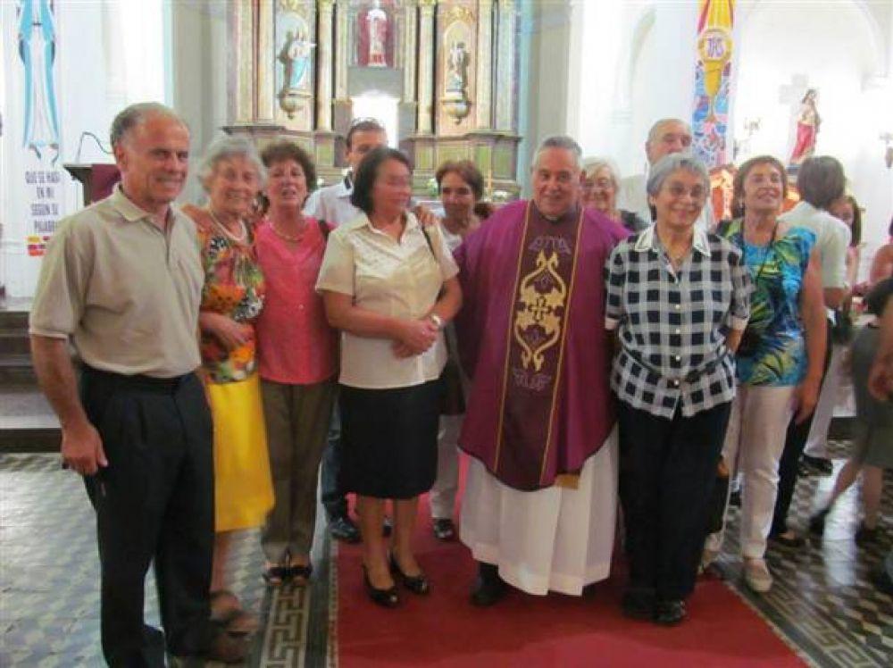 El padre Qüín celebrò sus Bodas de Oro sacerdotales