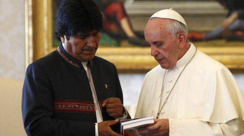 Francisco se interesó en la demanda de Bolivia por una salida al mar