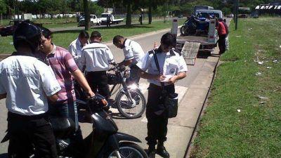 Sigue el secuestro de motos: 128 en lo poco que va del a�o