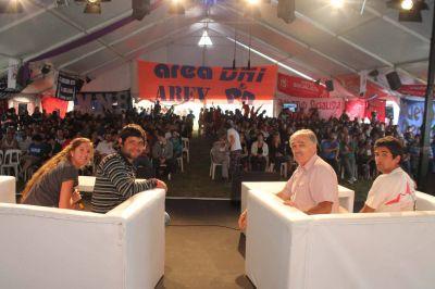 Comenzó en Mar del Plata el Campamento Anual de las Juventudes Socialistas de Argentina