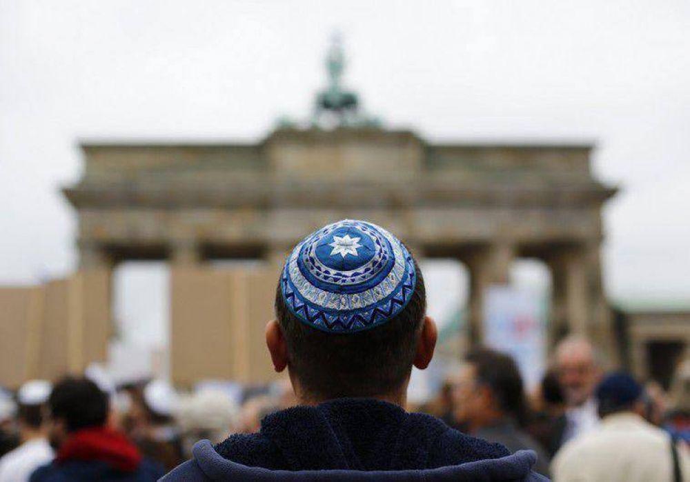 En Berlín el año nuevo empezó con un ataque antisemita