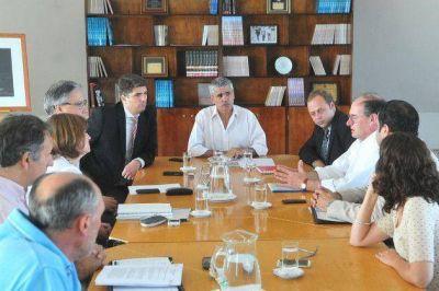 El vicegobernador presidió una reunión interministerial