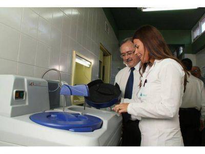 OSEP incorporó equipamiento de alta tecnología en San Martín para análisis