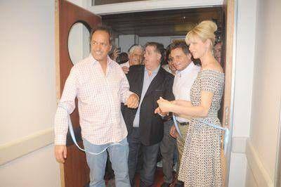 Scioli inauguró ayer salas de obstetricia en el Hospital Materno Infantil