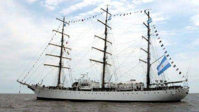 Este miércoles llega la Fragata Libertad a Mar del Plata