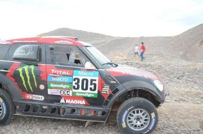 Dakar: Orly Terranova conquistó la etapa San Juan- Chilecito