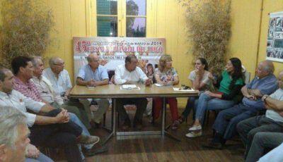 El gabinete se reunió para analizar la Fiesta del Trigo