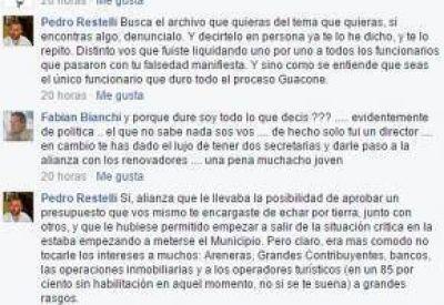 Dura discusi�n en Facebook por la renuncia de Villafuerte