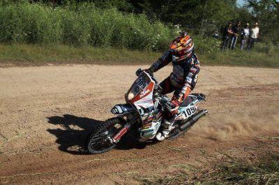 Una más: Jorge Lacunza completó la tercera etapa del Dákar
