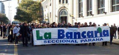Los bancarios esperan la convocatoria para iniciar la paritaria 2015