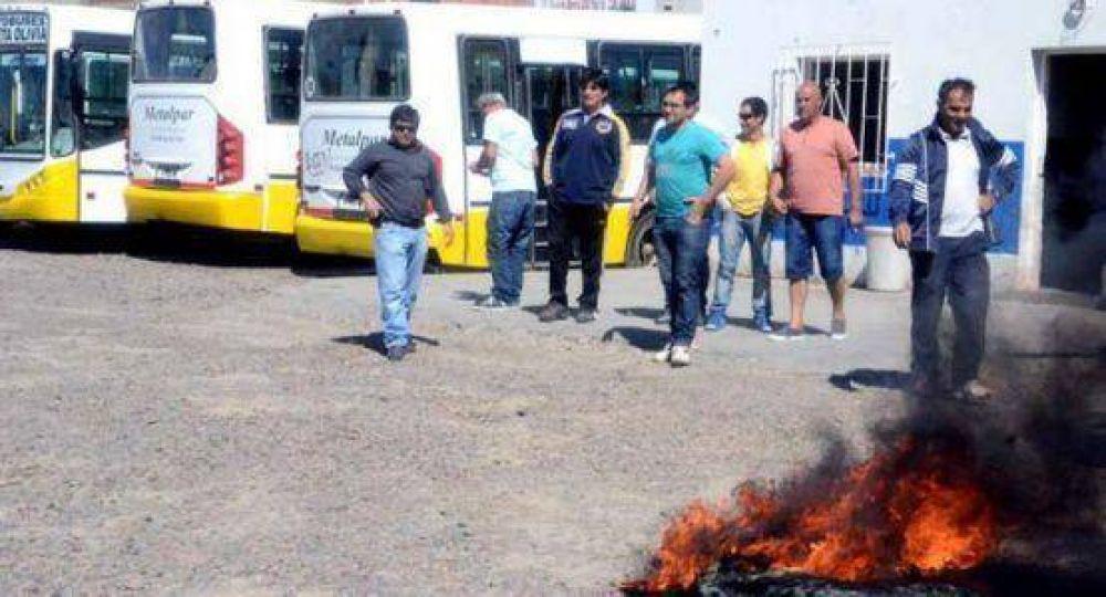 La empresa dice que el paro de choferes de Autobuses es ilegal