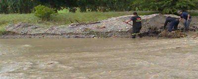 Desbordó el Rio Chuscha