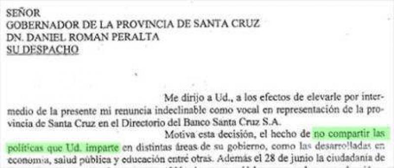 Néstor Kirchner avanza contra el gobierno de Santa Cruz