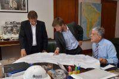 De Vido recibió al intendente de Gral. Pueyrredón y analizaron obras en ese distrito