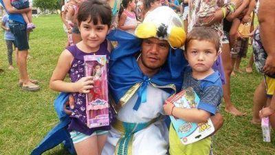 Junto a UOCRA los Reyes Magos estuvieron en Baradero