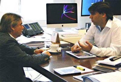 Bossio y Auza analizaron detalles para la firma de próximos convenios en Tandil