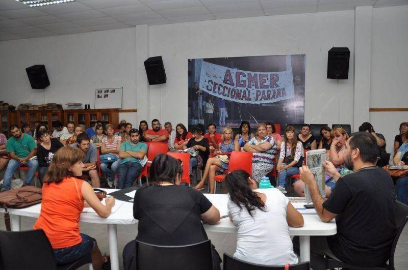 Agmer Paran� realizar� una �intervenci�n� en la Casa de Gobierno el viernes