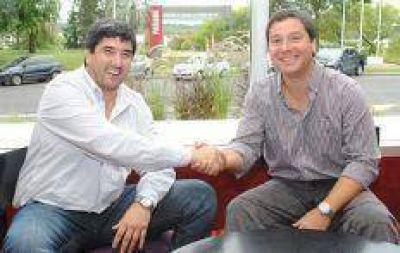 Fuertes y Zavallo se mostraron en una foto