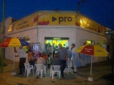 """El Pro Ensenada inauguró local: """"Estamos abiertos al diálogo con todos los espacios no peronistas"""", dijo Rodríguez"""