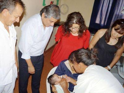 Jujuy protagonista en la vacunación contra el rotavirus