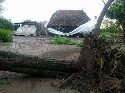 Vinalito – destacaron asistencia a los vecinos afectados por las tormentas