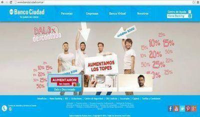 Premiaron el sitio web del Banco Ciudad