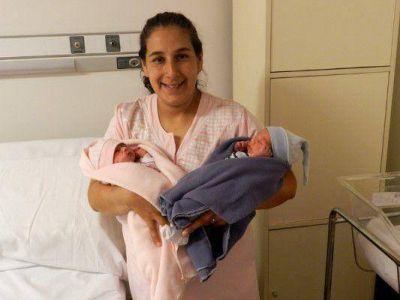 Fertilización Asistida: mellizos en el Materno
