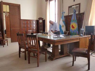 Passaglia de licencia y Petroni al frente del Ejecutivo Municipal