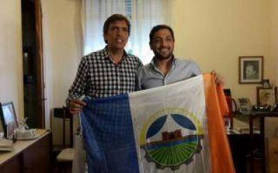 Elecciones 2015: Patricio Mussi visit� Carmen de Areco