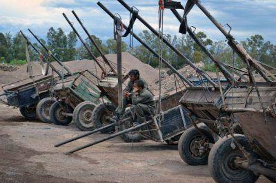 Guaymallén: recuperadores entregaron carretelas y caballos