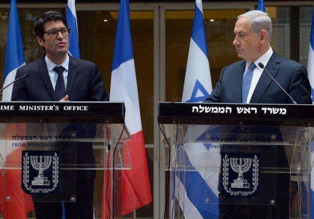 Netanyahu al embajador de Francia: