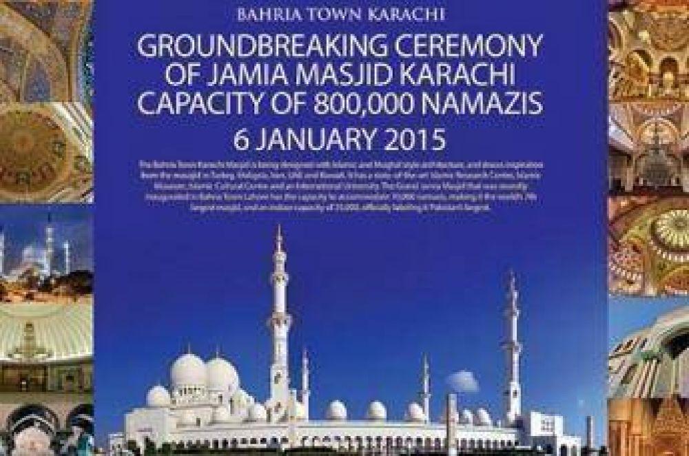 Pakistán construye la tercera mezquita más grande del mundo