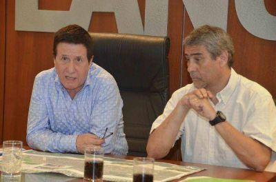 Díaz Pérez y Ferraresi anunciaron obras en conjunto entre ambas comunas