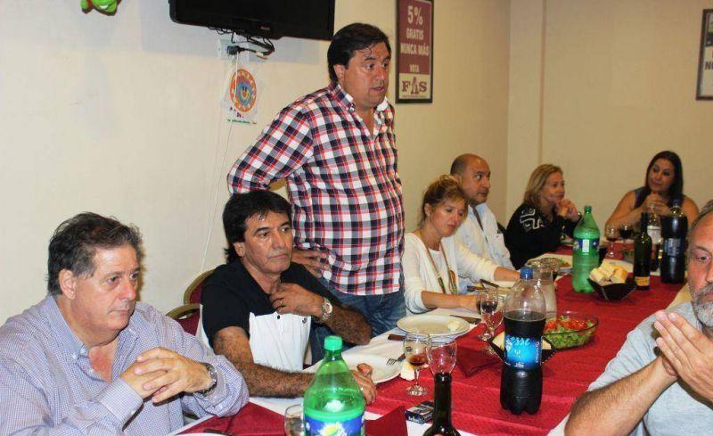 Mesa sindical en apoyo a la candidatura de Scioli