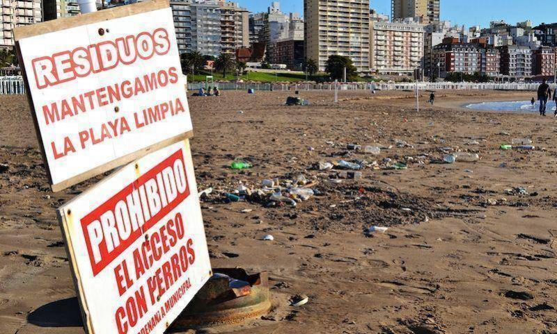 Desde camioneros afirman que �lograron frenar el trabajo precarizado en la separaci�n de residuos en las playas�